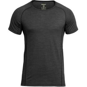 Devold Running - T-shirt manches courtes Homme - noir